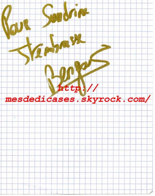 Autographe de Bengous
