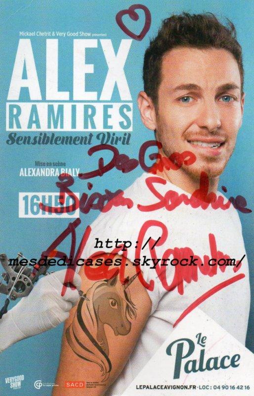 Autographe d'Alex Ramirez