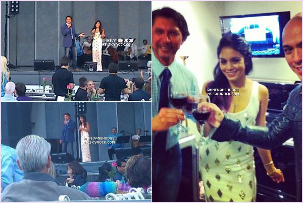 - EVENTS | Vanessa était présente au « Global Filipino Music » avec sa maman au Philippine le 08 juillet 2012 ! -