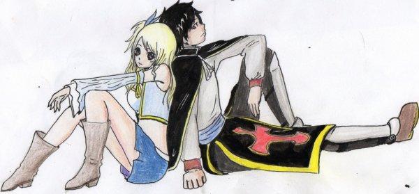 Commande de dessin N°1 : RoLu pour cro-manga-fairytail