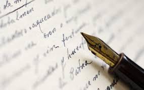 évolution de l'écriture