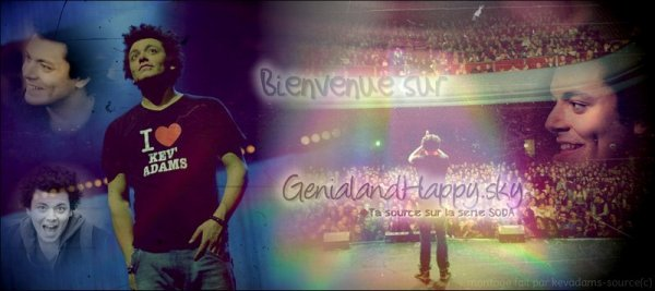 Bienvenue sur Génial and Happy !!