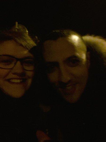 Kev et Gad à Lille le 8 janvier 2016