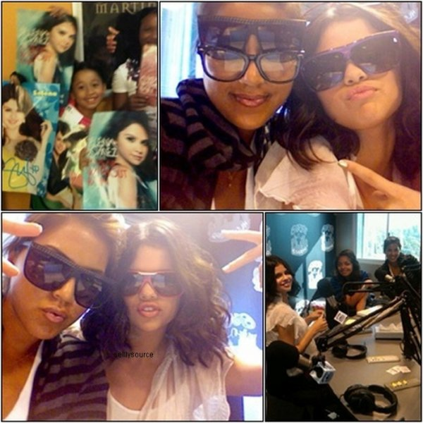 Rebrique : Candids  .20 Septembre : Selena a la radio « power106 FM » .