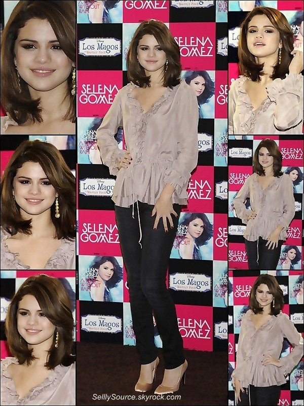 .18 Octobre : Selena c'est rendu a Madrid ( Espagne ) Pour la promo de son Album« A Year Without Rain » .