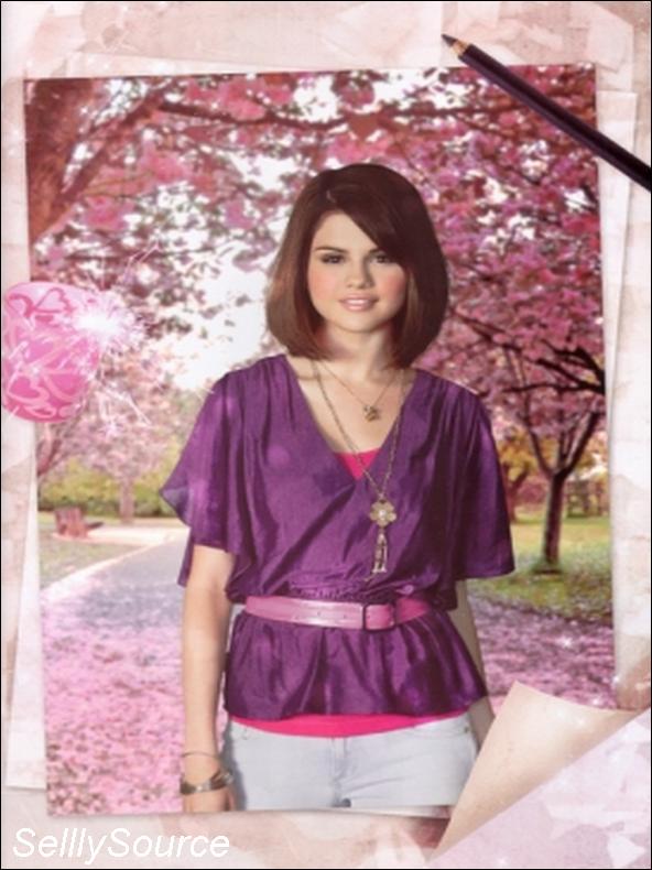 ". Selena dans le ""Trinity Stars"" du mois d'octobre ."