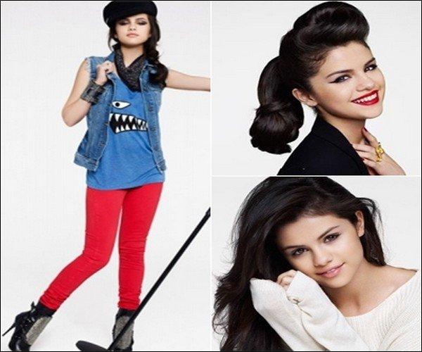 . Nouveau shoot de Selena : J'adooooore.