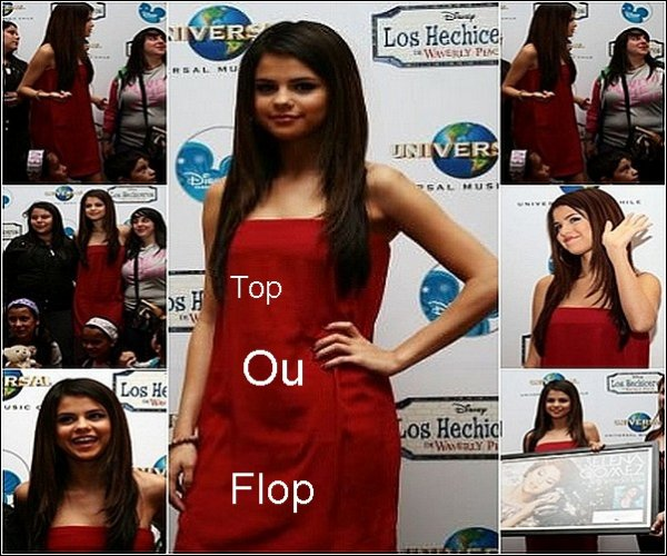.02/02/11 : Selena donne une conference de presse et  meet & greet au Chili. Top ou Flop ? .