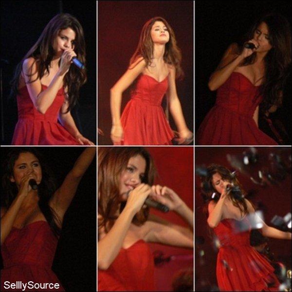 .4/02/11 ( suite ) : Dans la même journe , Selena et The Scene repete du concert qui allait donner . .