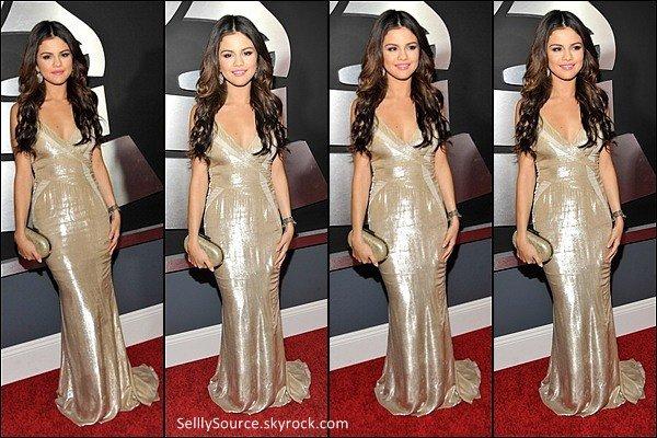 .13/02/2011  :Selly était a la 53e edition des Grammy Award ( c'est David Guetta qui a gagné ).