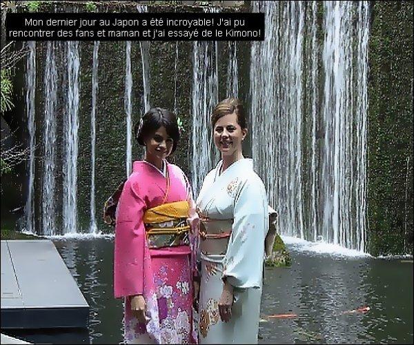 """.S. a poste une photo sur son Facebook.A l'emission """"Sukkiri """" au Japon.  ."""