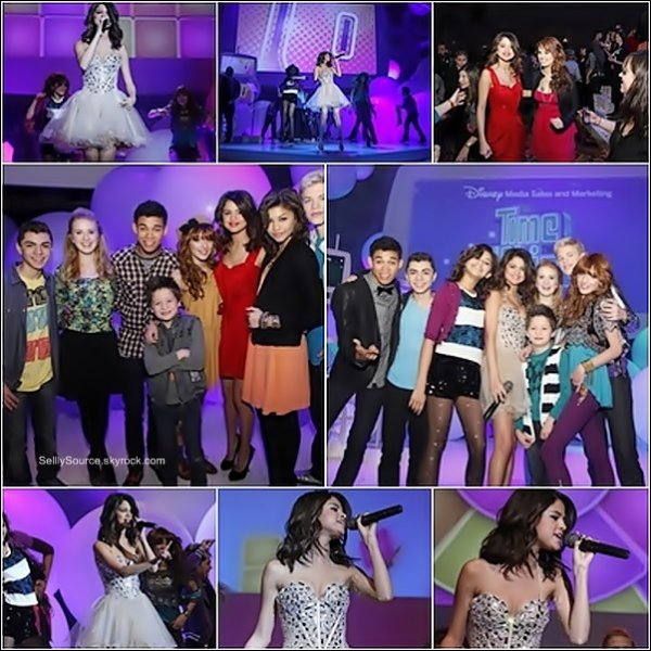 .18 Mars : Durant les  «  Disney Kids & Family Upfront» , Selena Performance , Shake it up  .