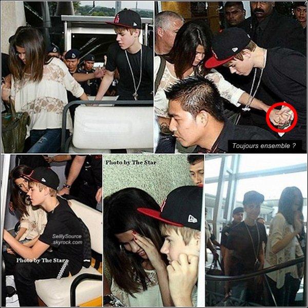 .21.04.2011 : Sel' et J. Bieber était à l'aeroport de « KLIA », en Malaisie.Sel' est Justin rencontrai des Fans.Nouvel photo d'un shoot de Sel'   .
