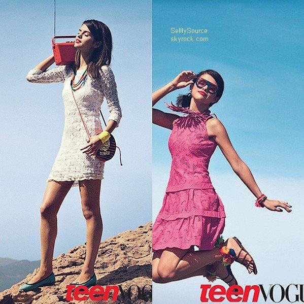 .11.05.2011 : Selly , était a un événement crée pas B. Spears+ Nouvelle photo du magazine # Teen Vogue # .