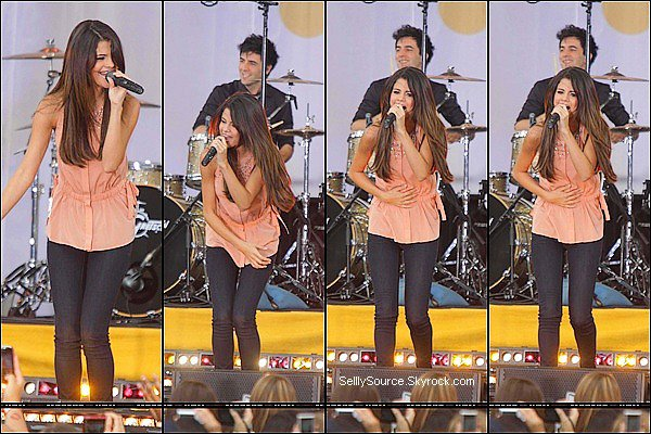 .17.06.2011 : Selly était au  «Good Morning America » .