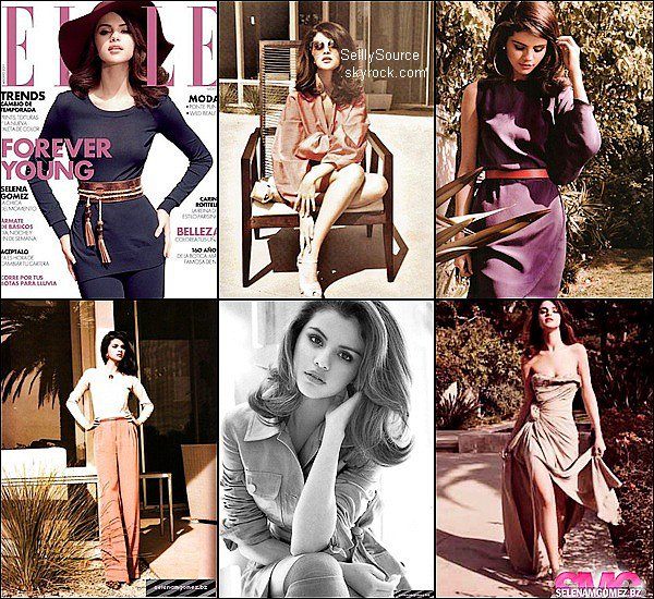 .Selena pose pour le magazine mexicain « Elle ».3 nouvelle photo du shoot « Dream Out Loud » .