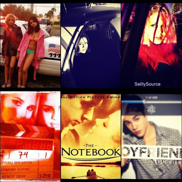 . Sel' a mis a jour son Instagram & Twitter.Sel' est rousse pour le tournage de SP, elle y posait avec un fan..