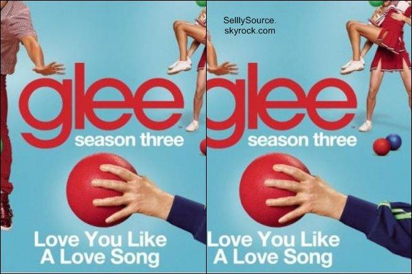 .Découvre l'affiche promotionnel de « Hotel Transylvania » dans, le quelle Selena prêt sa voix à Mavis.. Une seconde affiche promotionnel de Glee dans la quelle y interpréteront  « Love You Like A Love Song »..
