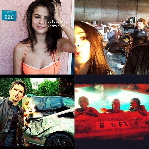 .Découvre 4 photo perso' de Sel' posté sur son Facebook & Twitter..