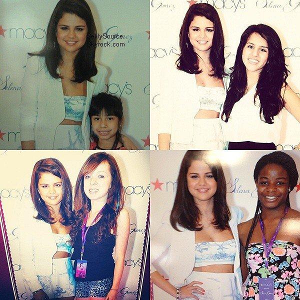 .9 Juin : Selena, était au lancement de son parfum chez Macy à LA..