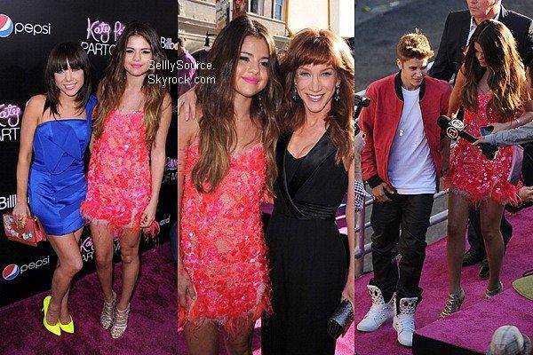 .26.06.2012:  Selena toute magnifique ces rendus à l'avant-première de « Part of Me » en 3D de Katy Perry. .