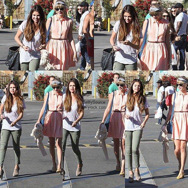.27.06.2012 : Sel' et sa meilleure ami Taylor S. se sont rendu dans une Parade Cove à Malibu..