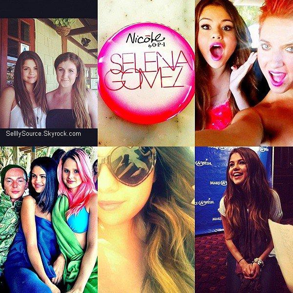 .Découvre 6 photo perso' de Miss Selena, posté souvent sur son Instagram,sur Facebook ou même Twitter..