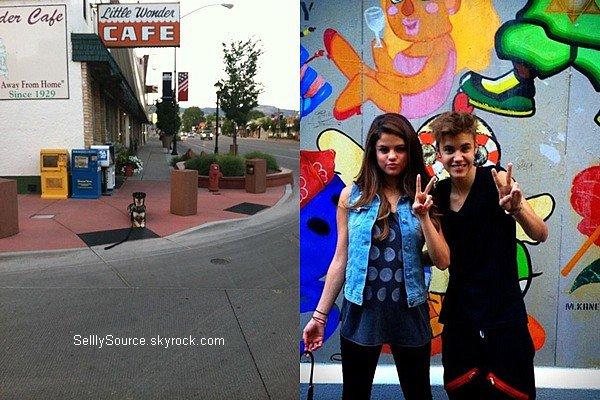 .09.07.2012 : Selena à été vu à l'aéroport du Japon, pour y accompagné Justin..