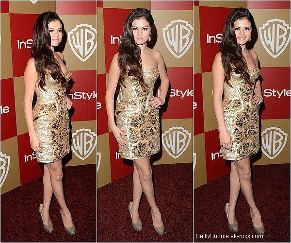 .13.10.2013: Selena c'es rendu au « InStyle And Warner Bros. Golden Globe Party » à LA..Selena était en présence de Vanessa Hudgens,Sarah Hyland, Ashley Tisdaleou encore Josh Hutcherson..