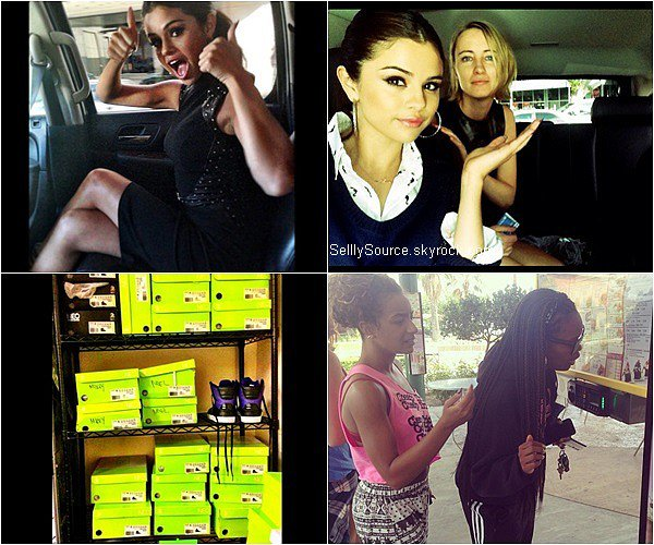 .05/08/2013: Selena à été vu entrain de quitté un hôpital à Tarzana,California. .
