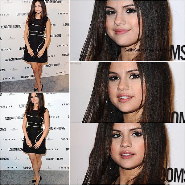 .GROS RATTRAPAGE DES EVENTS (part.2) ! . 9.04.2013 : Selena à été vu à une fashion week à Londres..