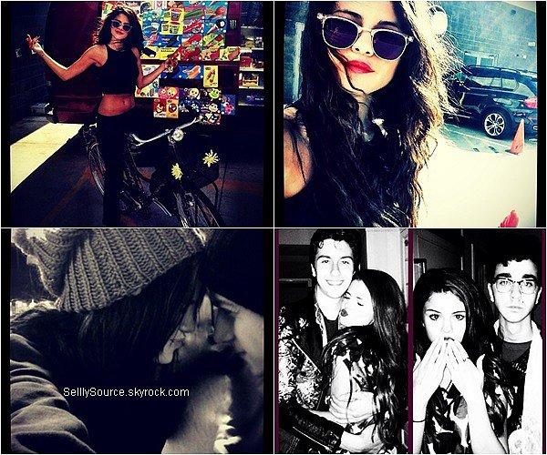 """.08.08.2013 : Selena à été cherché son déjeuner chez """"Sonic Drive-IN,à Los Angeles.."""