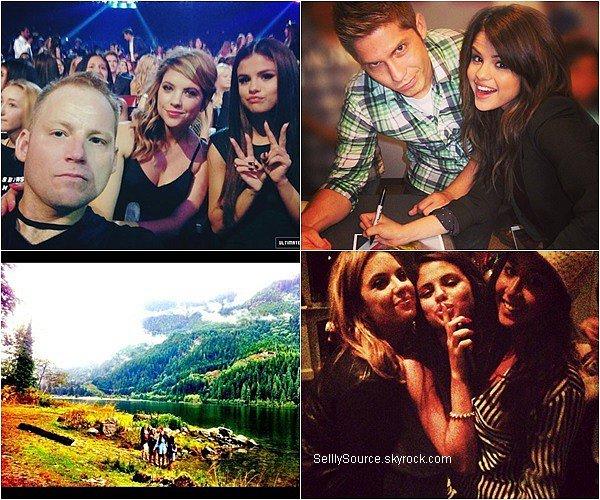 . Selena à ajouté 6 nouvelles photos personnel' sur ses comptes Facebook,Twitter & Instagram..