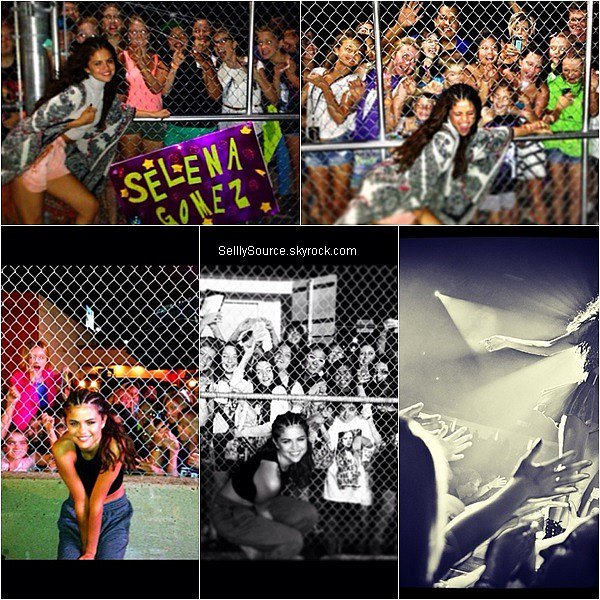 . Découvrez le meet & greet de Selena posant avec des fans, datant du 14 Août,à Vancouver,Canada..