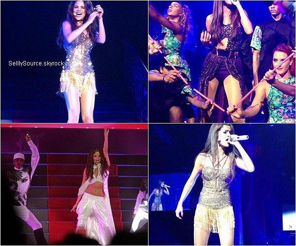 .16/08/2013 : Selena continue son Stars Dance Tour à Lethbridge au Canada..