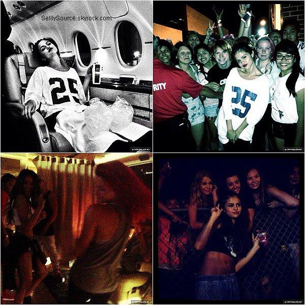 .20/08/2013 : Selena à été vu entrain d'aller à son hôtel à New York City,pour quelques jours de repos..