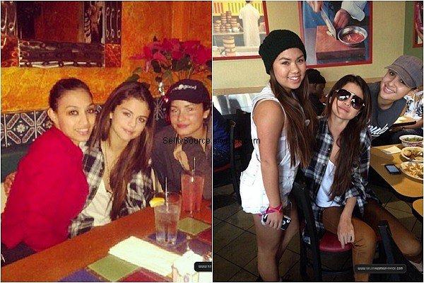 .2 Janvier 2014 : Selena et son ex Justin B. on été vu entrain de faire du segway dans Calabasas à LA..