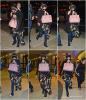 . CANDIDS :  S. et sa cousine ont été vu arrivant à l'aéroport de Lax à L.A (direction Seattle), le 7 décembre.  .