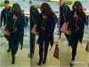 . CANDIDS :  Selena Gomez a été vu à l'aéroport de New York, direction... Boston, le 14 décembre.  .
