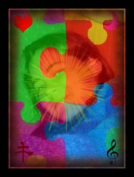 Concilier mangas,fées,citations,musique et poésie .....pourquoi pas ? kokoro ---> coeur, âme