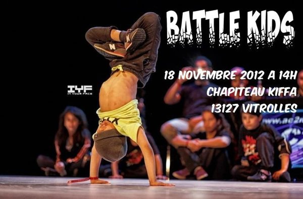 BATTLE KIDS le 18 novembre 2012 sur Vitrolle