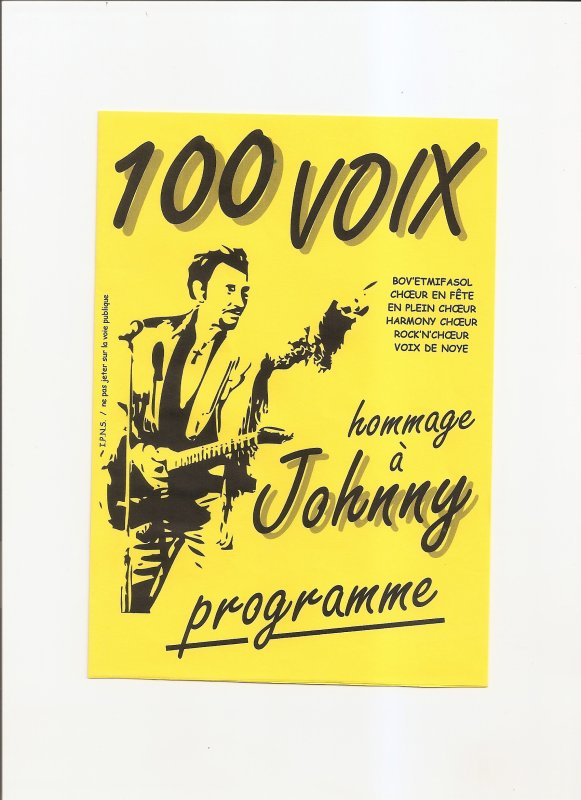 100 VOIX HOMMAGE A JOHNNY