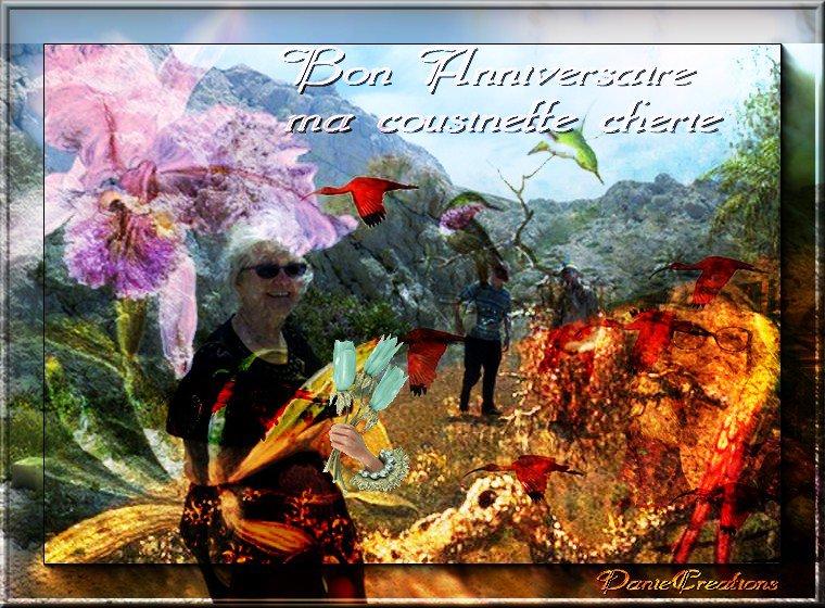 ♥♥♥ BON ANNIVERSAIRE MA COUSINETTE CHERIE ♥♥♥