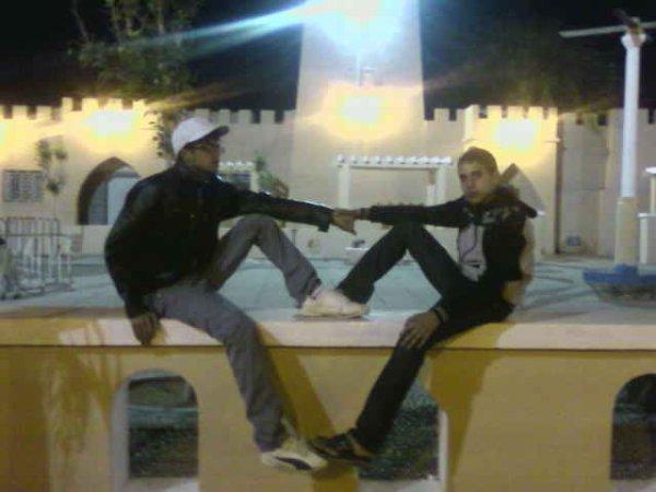 my friends mohamed & tarik