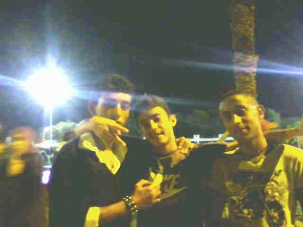 me & hicham & mostafa