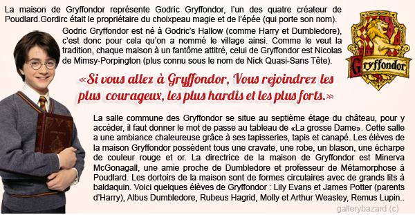 """""""Seul un véritable Gryffondor peut faire apparaître l'épée""""."""