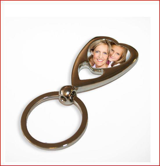 Le porte-clef coeur : je le personnalise à partir d'une de vos photos - 9 euros