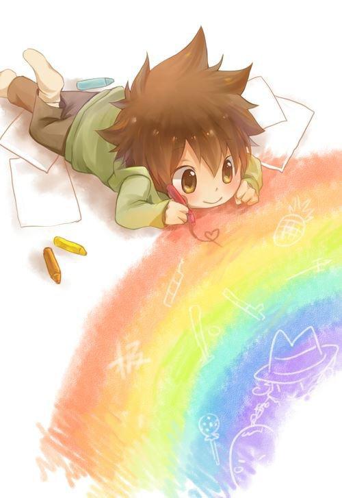 Trop mignon!Petit Tsuna *o*