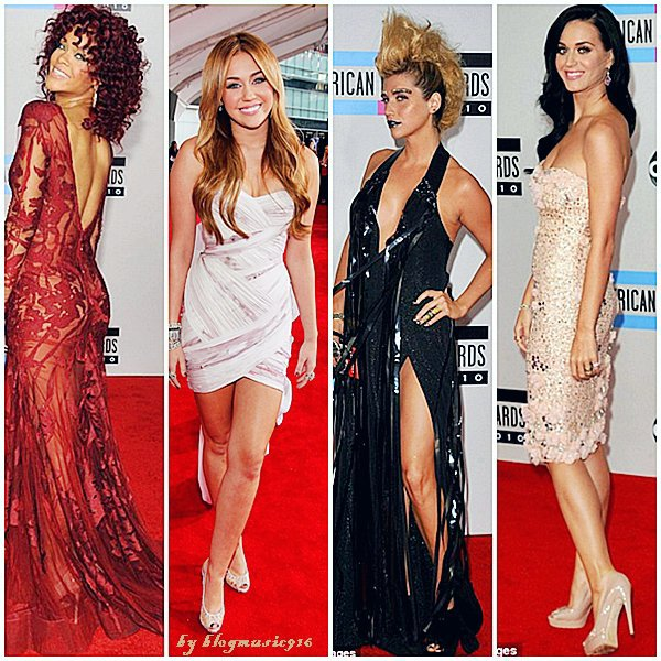 QUI AVAIT LA PLUS BELLE ROBE LORS DE L'AMERICAN MUSIC AWARDS 2010