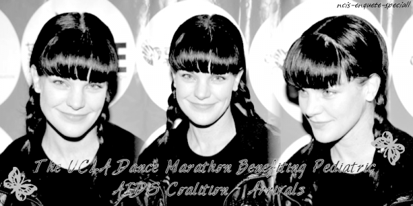 Pauley Perrette : The UCLA Dance Marathon Benefiting Pediatric AIDS Coalition - Arrivals - 19/02/2011